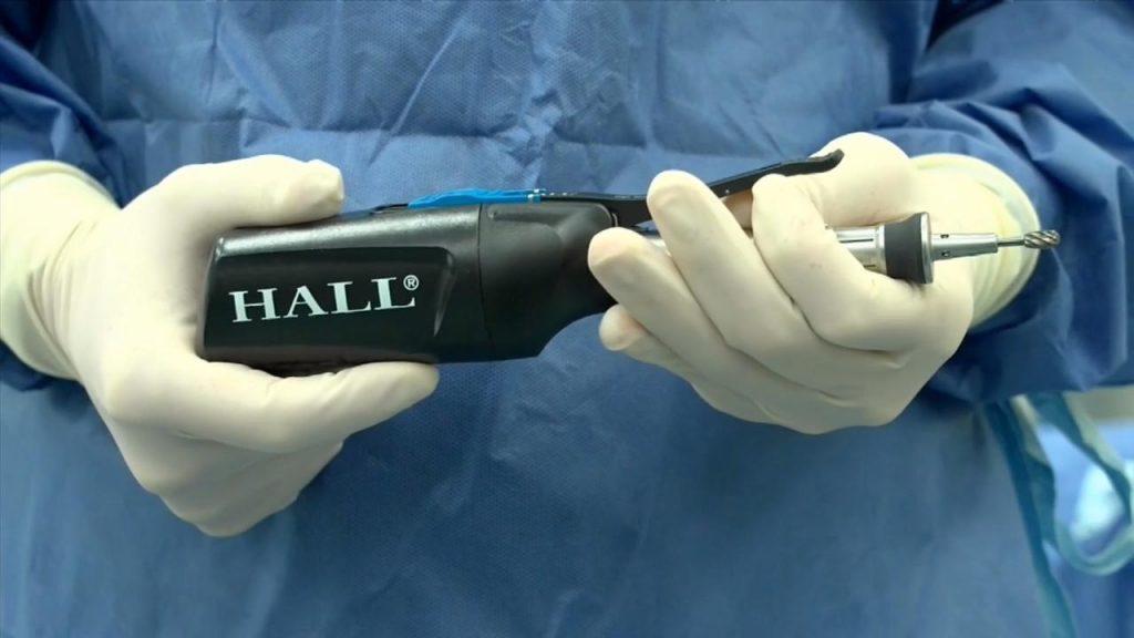 Hall®MicroFree™ – Micro-motor pentru oase mici